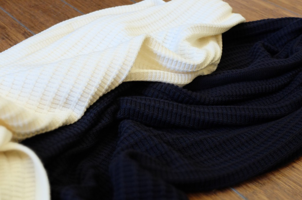 UNIVERSAL PRODUCTS Waffle scarf1
