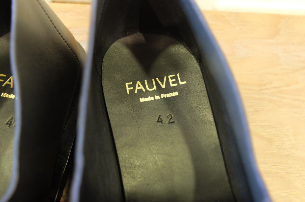 FAUVEL Flat pleat derby 2