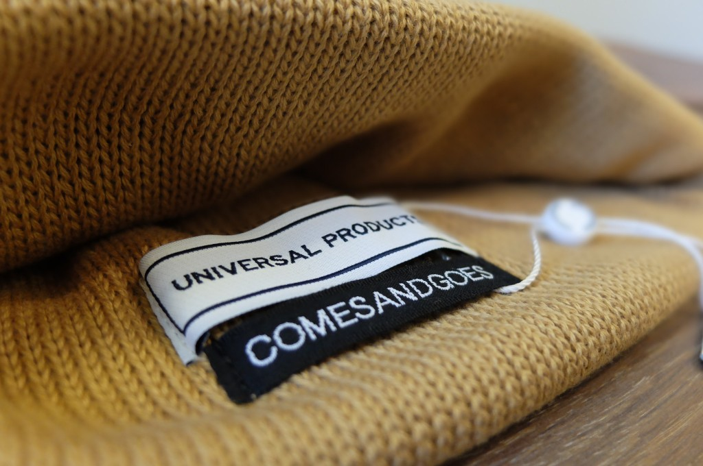 UNIVERSAL PRODUCTS Cotton knit cap2