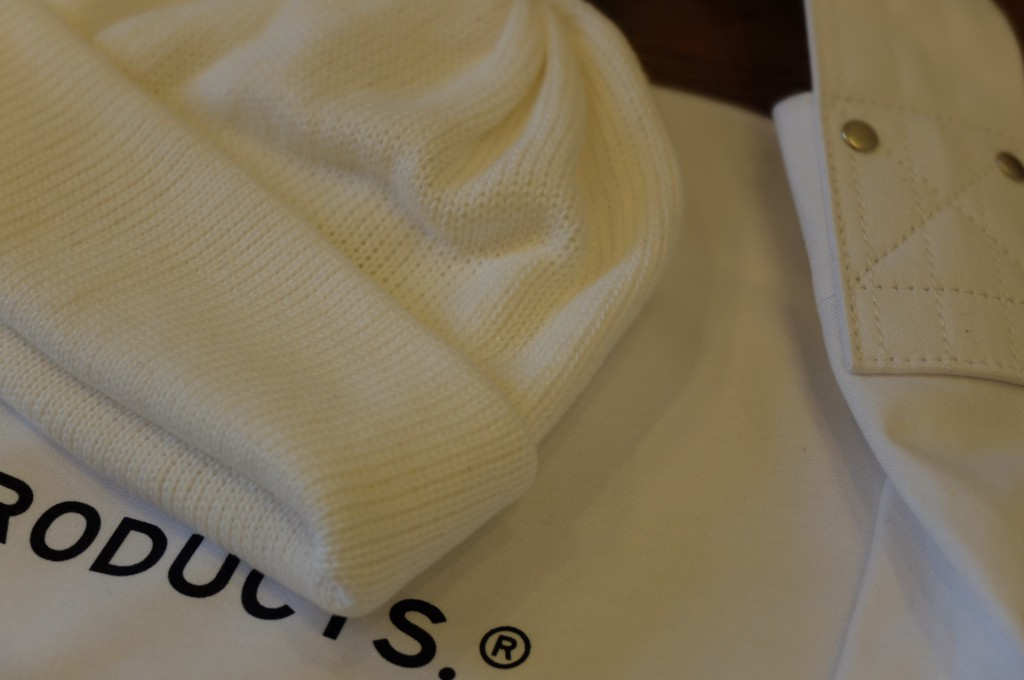 UNIVERSAL PRODUCTS Cotton knit cap3