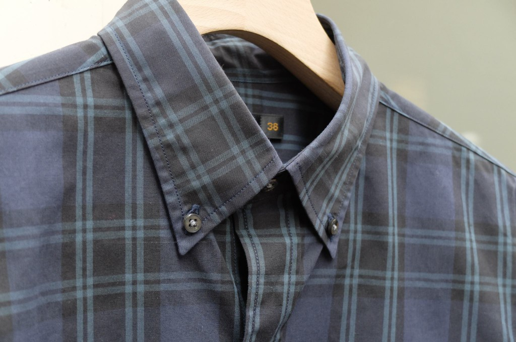 SCYE BASICS Check B/D shirt1