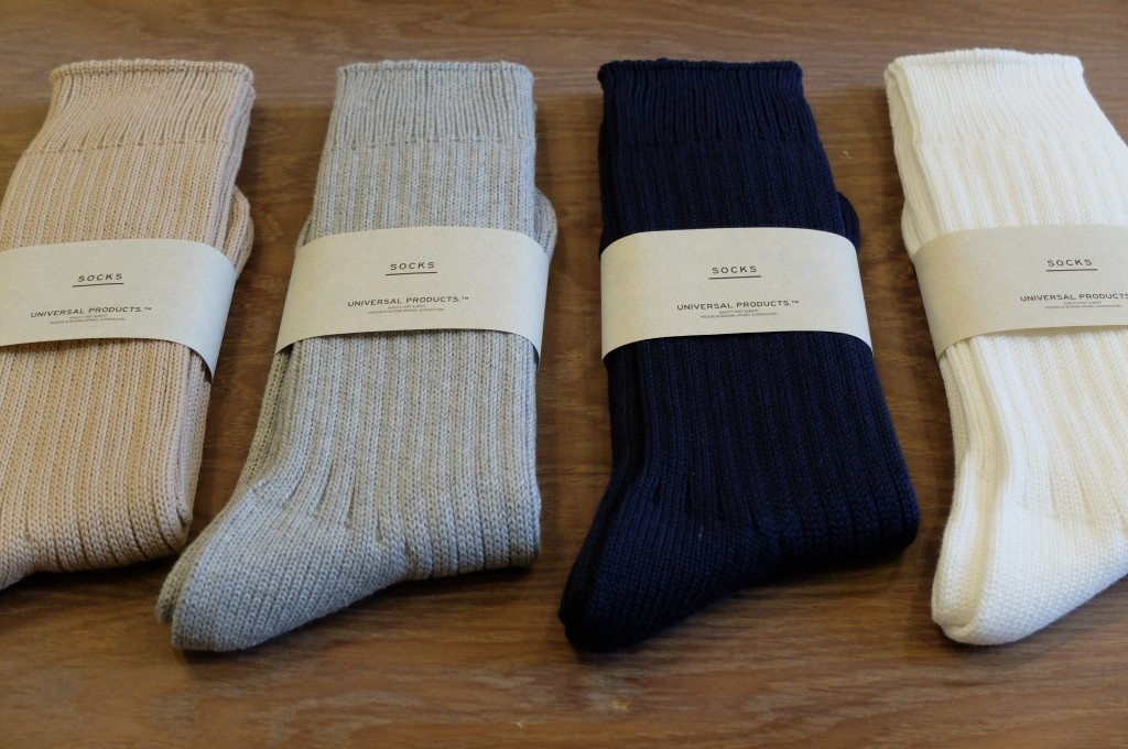 UNIVERSAL PRODUCTS Cotton socks1