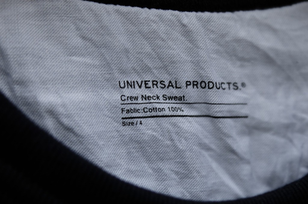 UNIVERSAL PRODUCTS Sweat shirt3