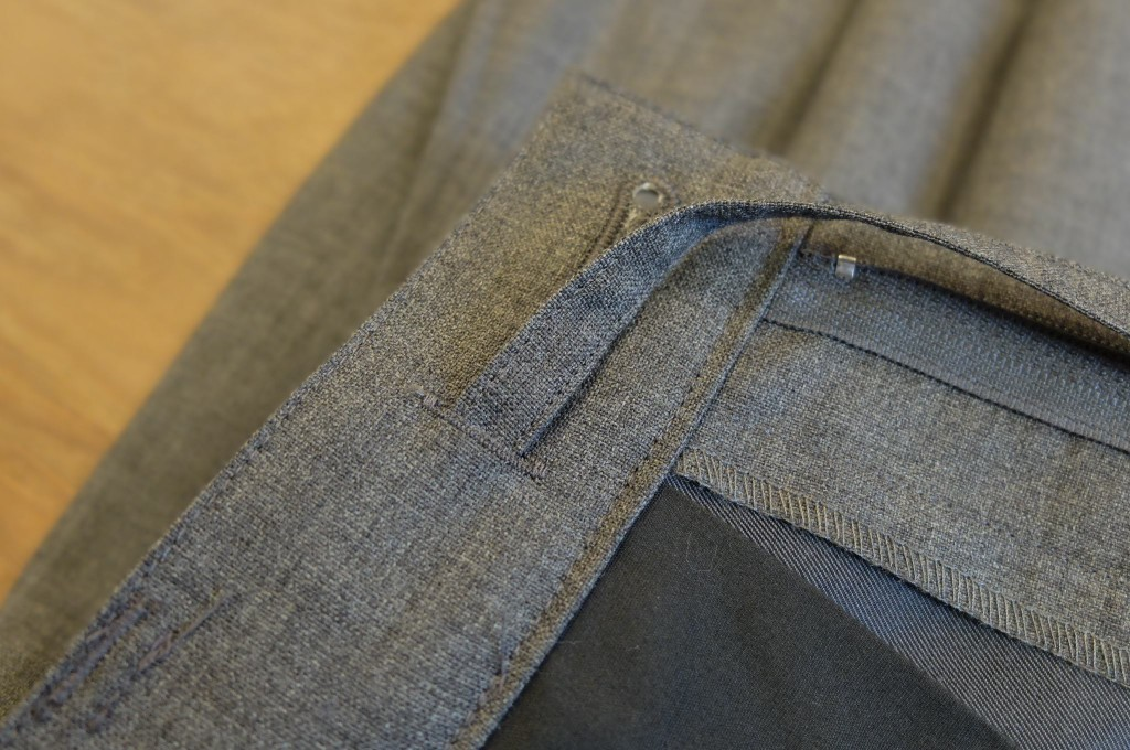 UNIVERSAL PRODUCTS Wool wide slacks3