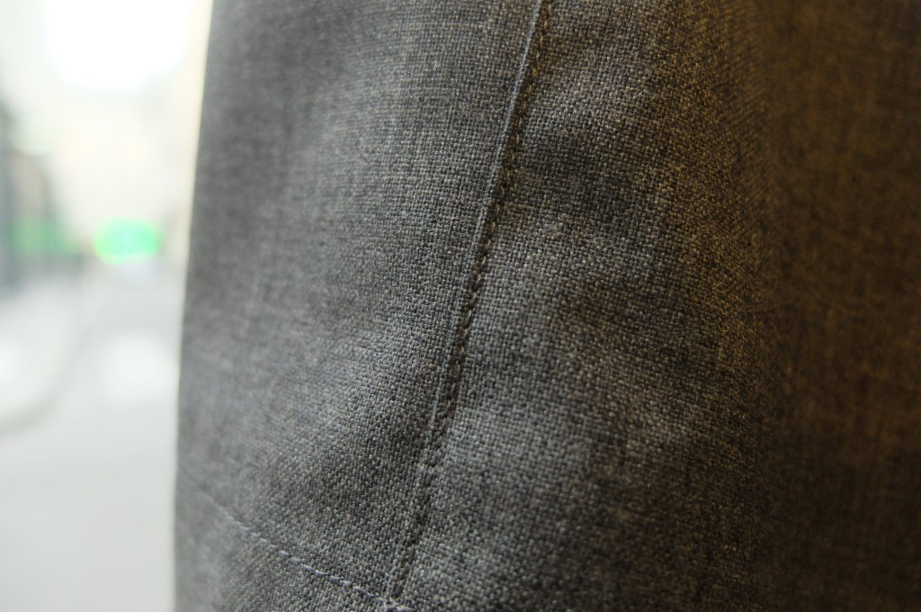 UNIVERSAL PRODUCTS Wool wide slacks2