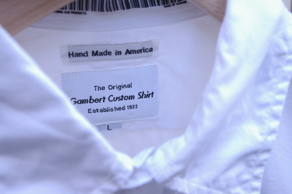 UNIVERSAL PRODUCTS GAMBERT CUSTOM SHIRT