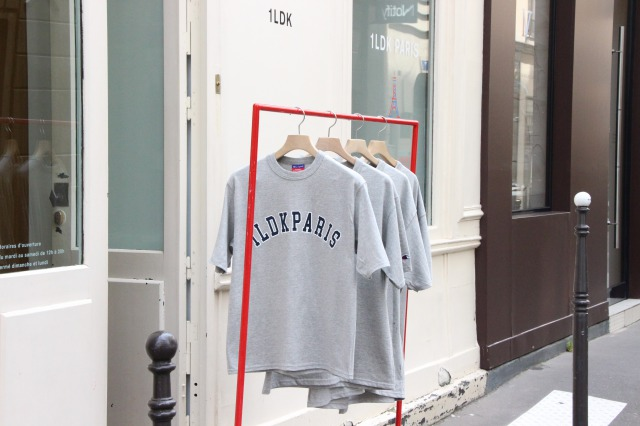 "1LDK PARIS ""PARIS Champion TEE"""