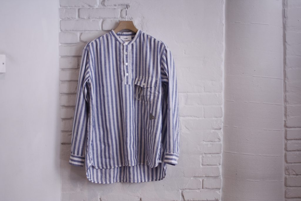 and wander FOR 1LDK DRY LINEN PULL OVER SHIRTS